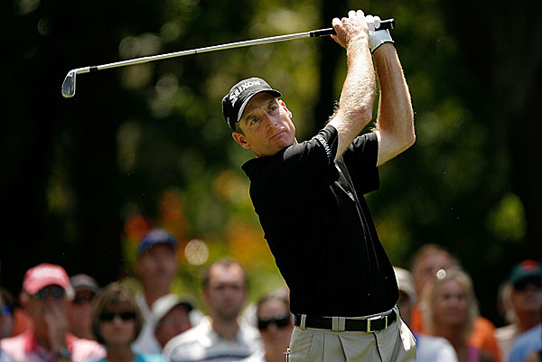Jim Furyk is four shots back at six under.