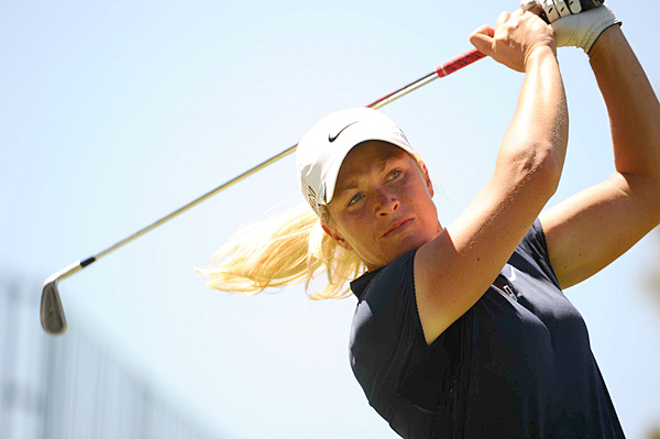 Suzann Pettersen made two birdies and a bogey for a 71.