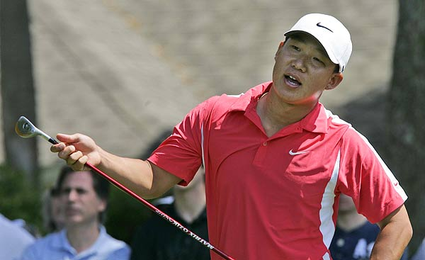Anthony Kim, who had three-straight birdies on his final back nine, finished three strokes off the lead.