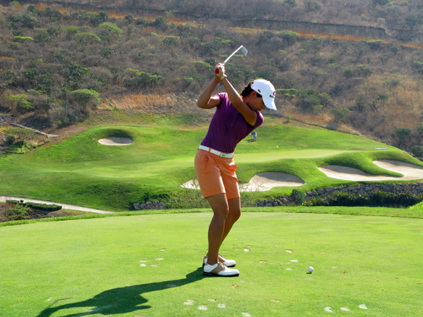 First Round of the 2009 Corona ChampionshipDefending champion Lorena Ochoa opened with a bogey-free 65.