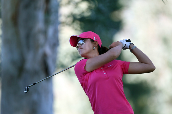 Michelle Wie made seven birdies, an eagle and two bogeys for a 66.