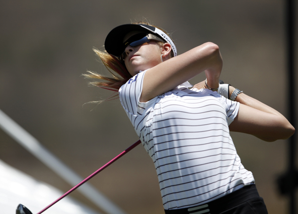 Paula Creamer made seven birdies and a bogey for a 67.