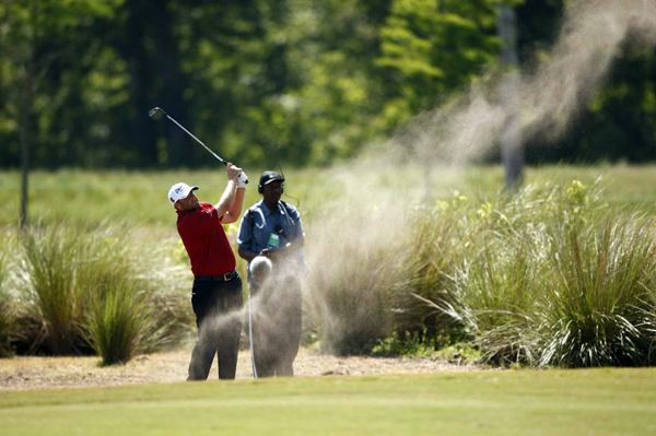 Steve Marino moved into second place with a four-under 68.