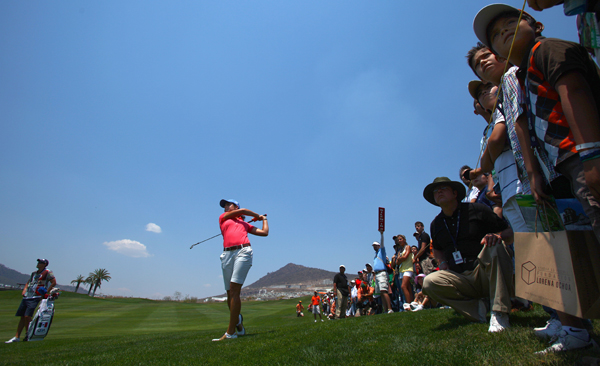 Third Round of the 2009 Corona ChampionshipLorena Ochoa kept her lead with a four-under 69.
