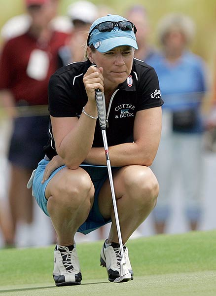Sorenstam parred the 18th hole, the first playoff hole, which was good enough for the win.