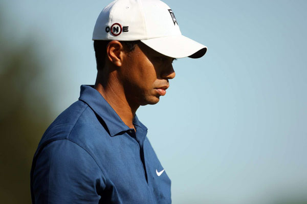 """It does bother me, no doubt,"" said Woods, about missing the cut. ""But at least I get the weekend to watch and see how it's done, how real players play golf, and hopefully I can piece it together for next week and be ready to go."""