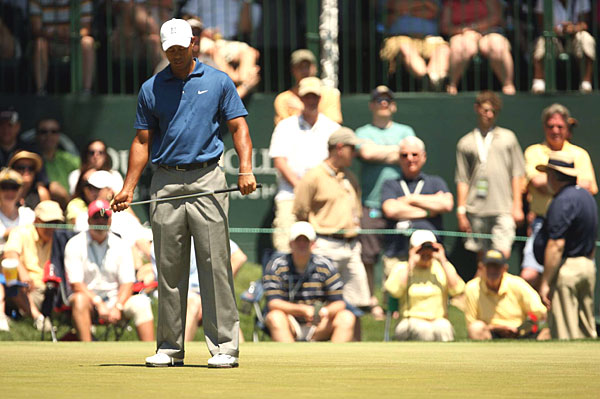 April 30 - Woods shoots 79 in the Quail Hollow Championship. He misses the cut for only the sixth time in his career, and his nine-over 153 is the highest 36-hole score of his career.