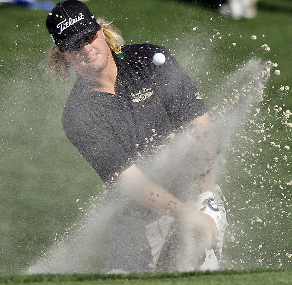 Third Round of the Shell Houston OpenCharley Hoffman made three straight birdies on the back nine for a 69.