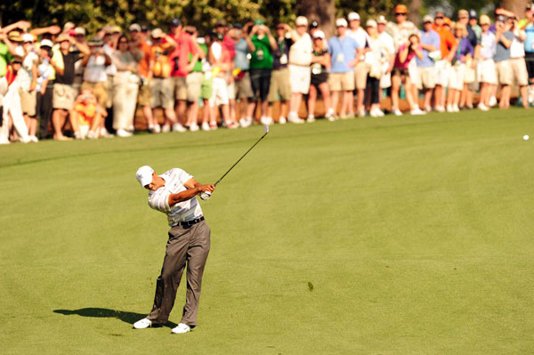 Woods tied for sixth last year at the Masters.