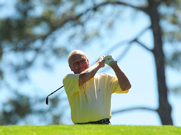Palmer won four green jackets in his career, the last coming in 1964.