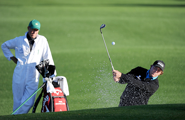 Mickelson has won three of the last seven Masters.
