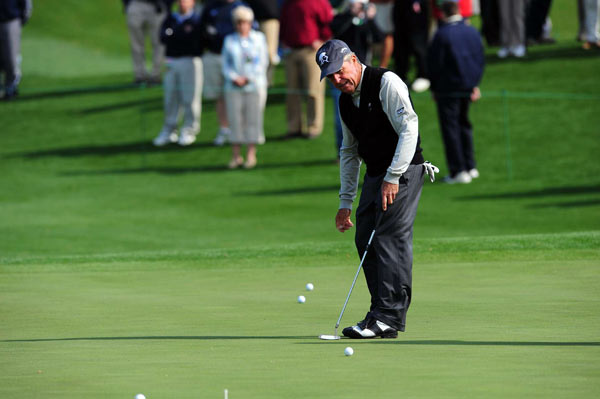 Player has won the Masters three times.