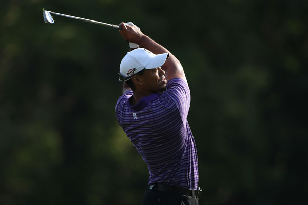 Woods tees off at 1:42 p.m. on Thursday with K.J. Choi and Matt Kuchar.