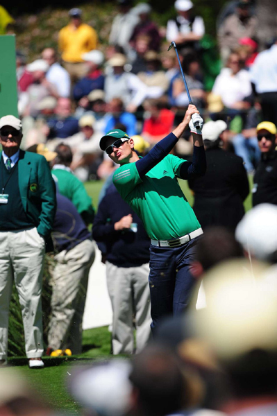 "Justin Rose was hard to spot among all of the green at Augusta.                                                                     function fbs_click() {u=""http://www.golf.com/golf/gallery/article/0,28242,1890259,00.html"";t=document.title;window.open('http://www.facebook.com/sharer.php?u='+encodeURIComponent(u)+'&t='+encodeURIComponent(t),'sharer','toolbar=0,status=0,width=626,height=436');return false;} html .fb_share_link { padding:2px 0 0 20px; height:16px; background:url(http://b.static.ak.fbcdn.net/images/share/facebook_share_icon.gif?8:26981) no-repeat top left; }Share on Facebook                                                                                            addthis_pub             = 'golf';                        addthis_logo            = 'http://s9.addthis.com/custom/golf/golf_logo.jpg';                       var addthis_offset_top = -155;                       addthis_logo_color      = '555555';                       addthis_brand           = 'Golf.com';                       addthis_options         = 'email, facebook, twitter, digg, delicious, myspace, google, reddit, live, more'                                                                      Share"