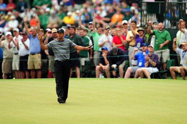 Tiger Woods returned from his four-month layoff with an impressive round of 4-under 68. Woods shot the best opening round of his Masters career, and he made two eagles on Thursday.