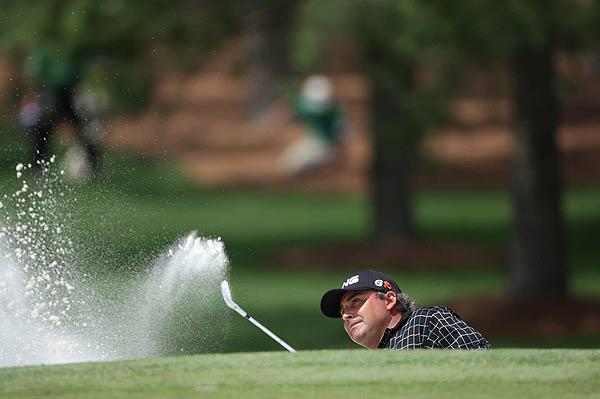 The 2007 U.S. Open winner Angel Cabrera is at one over par.