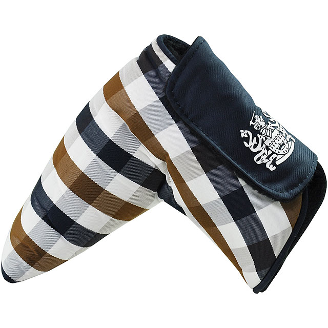 Aquascutum Putter Cover                       $49, trendygolf.com                       From the venerable British firm Aquascutum—which dresses Adam Scott on Tour—this head cover for the flat stick comes with a magnetic fastener and the Aquascutum crest. The classic house check is sure to stand out nicely among the various moth-eaten pom-pommed socks and stuffed animal-style head covers.