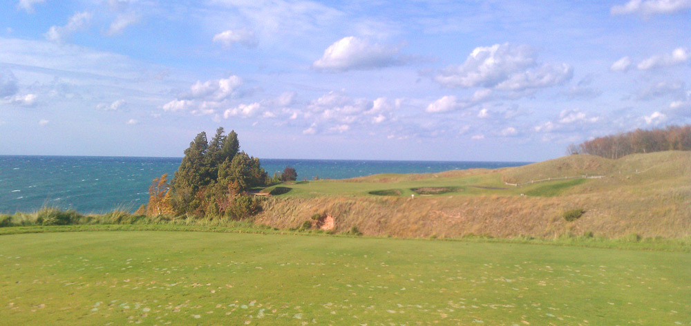 Arcadia Bluffs Golf Club -- Arcadia, Mich.                       Submitted by Alexander Carter