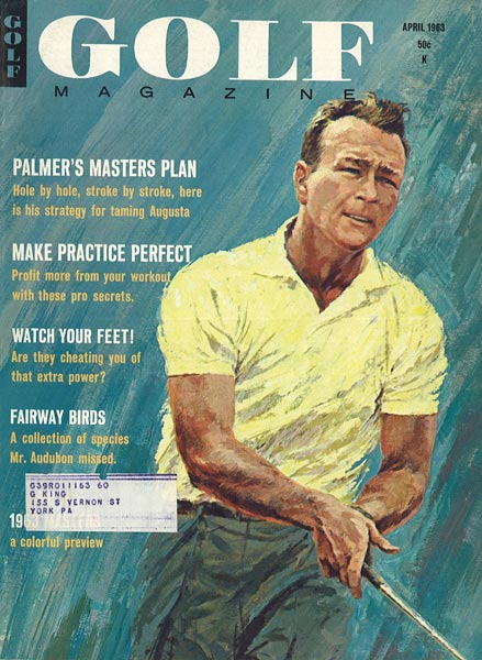 Arnold Palmer, GOLF Magazine, April 1963
