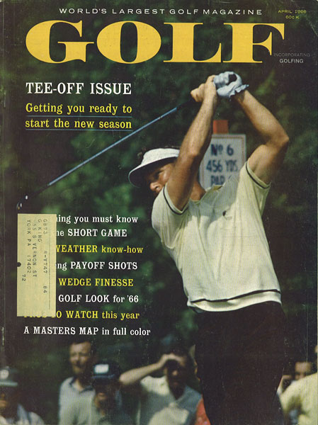 Arnold Palmer, GOLF Magazine, April 1966