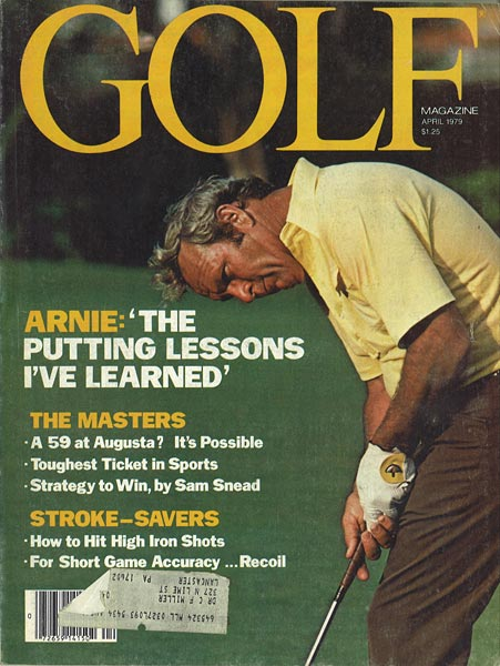 Arnold Palmer, GOLF Magazine, April 1979