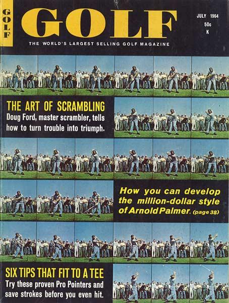 Arnold Palmer, GOLF Magazine, July 1964