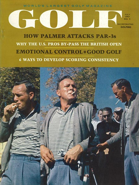 Arnold Palmer, GOLF Magazine, July 1967