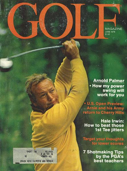 Arnold Palmer, GOLF Magazine, June 1978