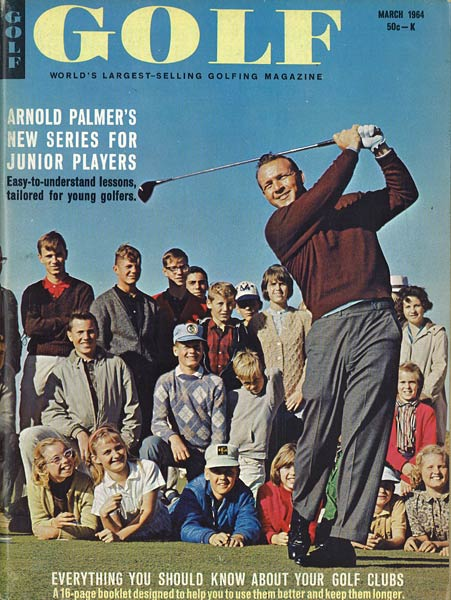 Arnold Palmer, GOLF Magazine, March 1964