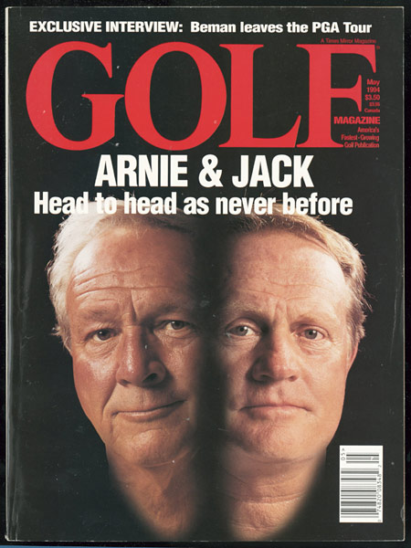 Arnold Palmer, GOLF Magazine, May 1994
