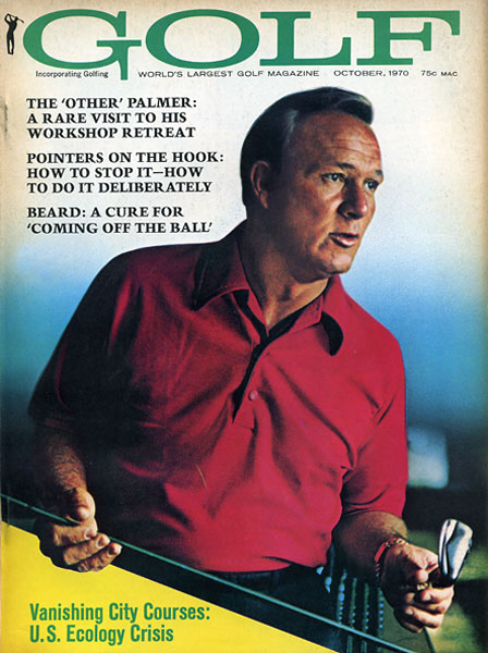 Arnold Palmer, GOLF Magazine, October 1970