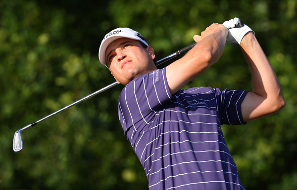 Masters champ Zach Johnson missed the cut by five shots.