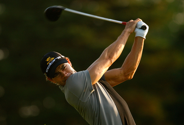tied for fourth at the 2008 PGA at Oakland Hills.