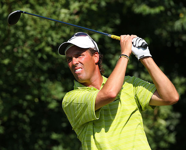 Stephen Ames faded on Sunday, finishing T12 at two over par.