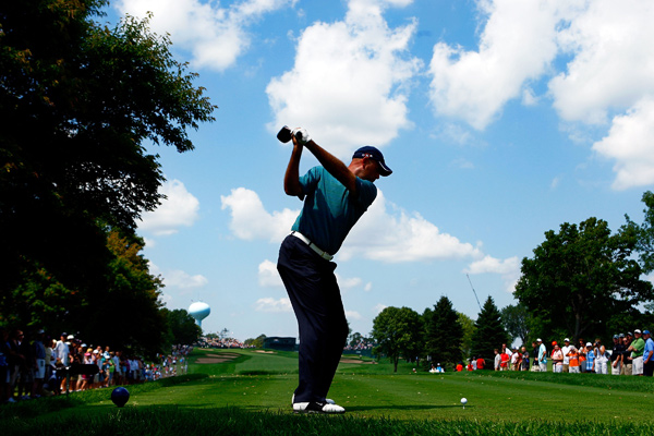 has two career top-10 finishes at the PGA.