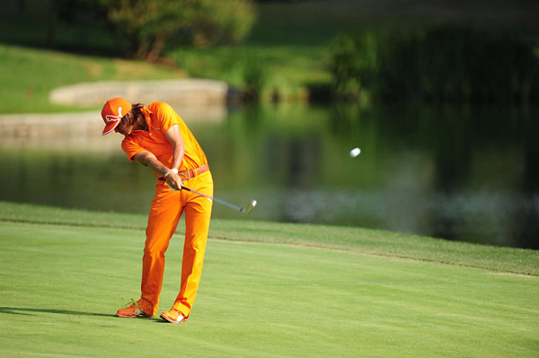 Rickie Fowler shot a solid 68 to wrap up his tournament.