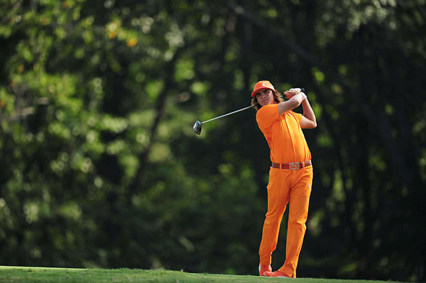Fowler made five birdies in the round and finished at six over total.