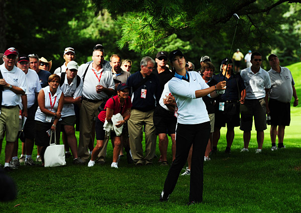 Michelle Wie made the cut after a two-under 70.
