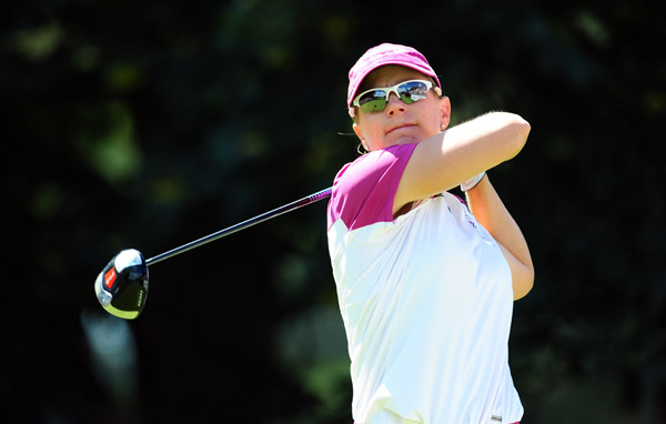 Annika Sorenstam tied for 21st after a Sunday 74.