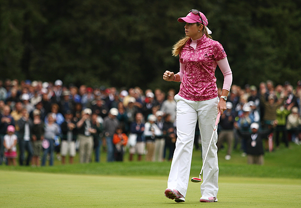 Paula Creamer, who had five birdies in her final round, was unable to catch Ochoa. She shot a final-round 68 to finish in second place.