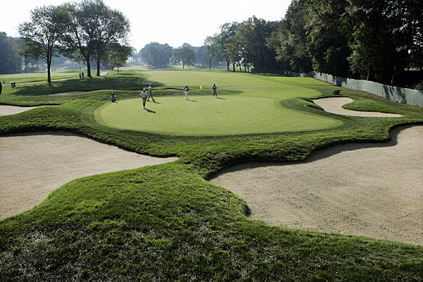 The Barclays moved this year from Westchester Country Club to Ridgewood Country Club.