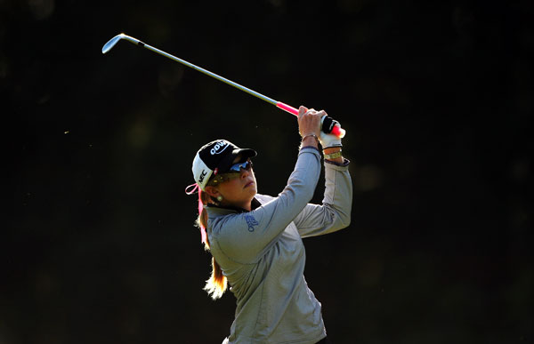 Paula Creamer made five birdies and two bogeys for a 69.