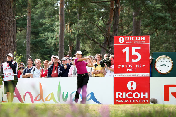 Second Round of the Women's British OpenLorena Ochoa made five birdies and a bogey to shoot a 66.