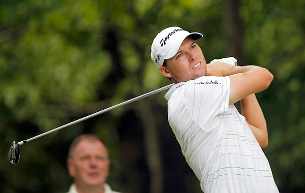 John Mallinger had four bogeys on the back nine in a round of 71 that dropped him to T12.
