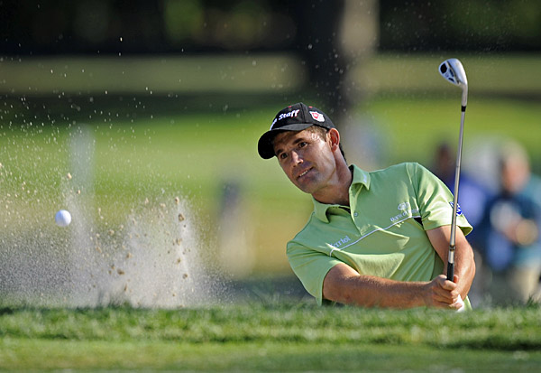 Padraig Harrington, winner of the British Open and the PGA, missed the cut.