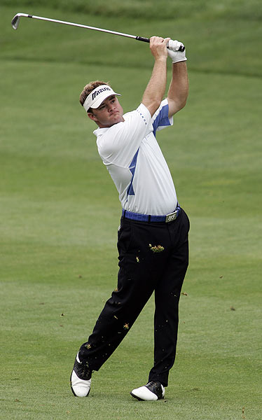 Brian Gay is six under par and two strokes behind Sabbatini.