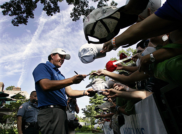 Phil Mickelson has failed to contend this week. He shot a one-over 72.