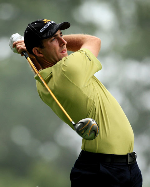 On holes 6-11, Geoff Ogilvy carded four birdies and two bogeys. He shot 68.