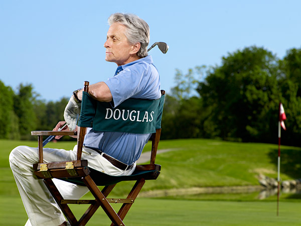 "No. 1 Comeback Player: Michael Douglas                     ""After cancer, you have a deeper appreciation for a lot of things, and golf is one of them. You appreciate driving to a course instead of driving to the hospital.""                                          Douglas's charity golf event, Michael Douglas and Friends, returns in May 2012."