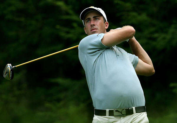 Geoff Ogilvy shot a five-under 66 to move to eight under.